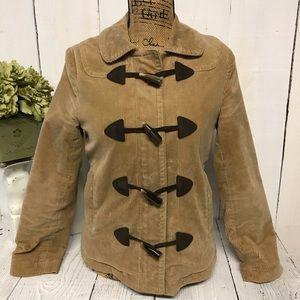 Women's Gap Brown Corduroy Jacket Size XS